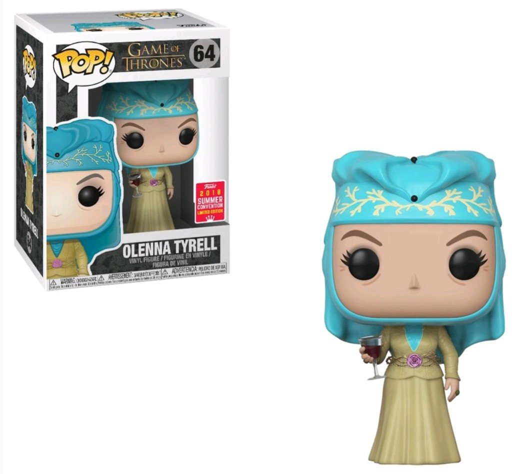 Funko Pop! Television - Game of Thrones #64 - Olenna Tyrell (Summer Convention 2018 Exclusive) - Simply Toys