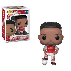 Funko Pop! Sports - Football: Arsenal #12 - Pierre-Emerick Aubameyang - Simply Toys