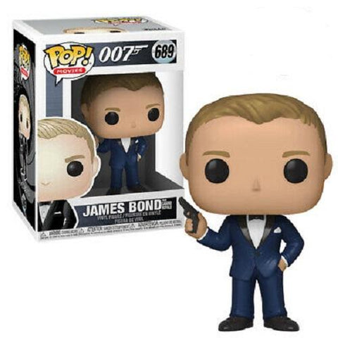 Funko Pop! Movies - James Bond #689 - James Bond (Casino Royale) - Simply Toys