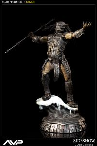 Sideshow Collectibles AVP Premium Format Figure - Scar Predator - Simply Toys