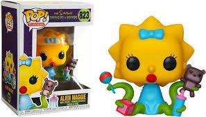 Funko Pop! Animation – The Simpsons Treehouse of Horror #823 – Alien Maggie - Simply Toys