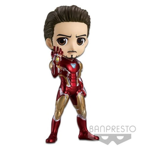 Banpresto MARVEL Q Posket - Iron Man Battle (Version A)