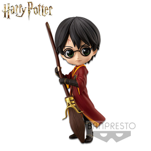 Banpresto Harry Potter Q Posket - Harry Potter (Quidditch Style) (Version A) - Simply Toys