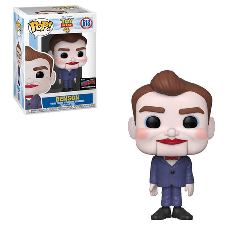 Funko Pop! Movies - Toy Story 4 #618 - Benson (Exclusive) - Simply Toys