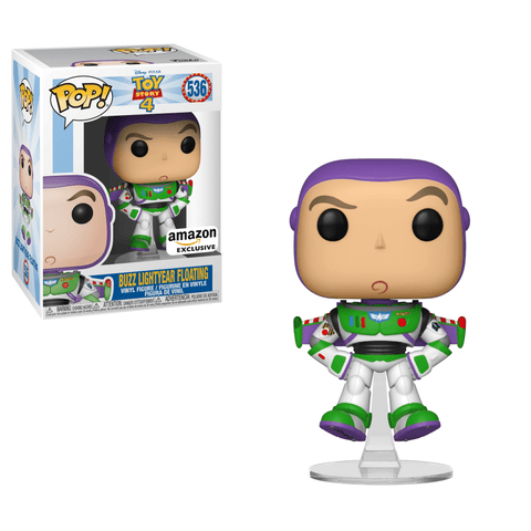 Funko Pop! Movies - Toy Story 4 #536 - Buzz Lightyear Floating (Exclusive) - Simply Toys