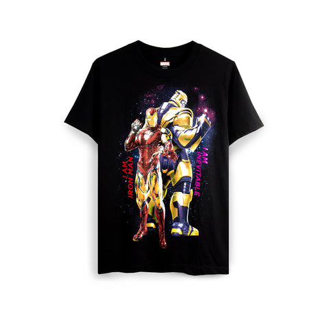 MARVEL - Avengers: End Game Iron Man & Thanos T-Shirt - Simply Toys