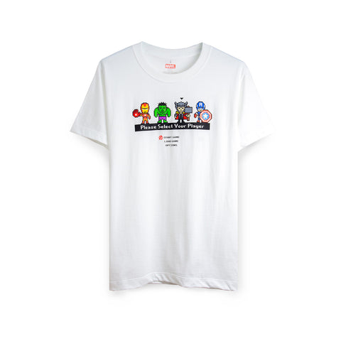MARVEL - Please Select Your Player T-Shirt - Simply Toys