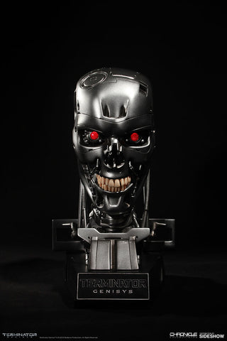Chronicle Collectibles Terminator Genisys 1/4 Scale Statue - Endoskeleton Skull - Simply Toys