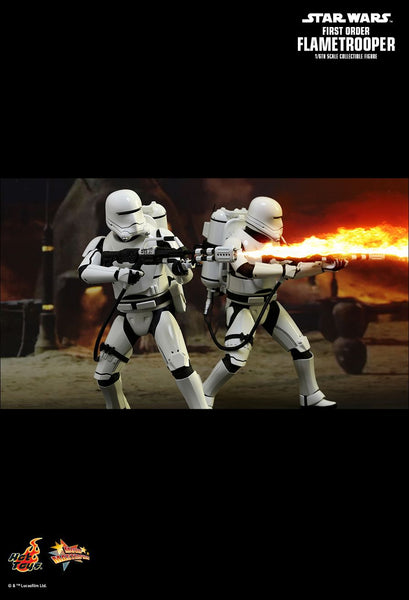 Hot Toys Star Wars: The Force Awakens 1/6 Scale Collectible Figure - First Order Flametrooper - Simply Toys