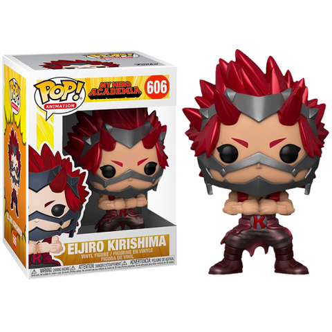 Funko POP! Animation – My Hero Academia #606 – Kirishima (Metallic) (Exclusive)