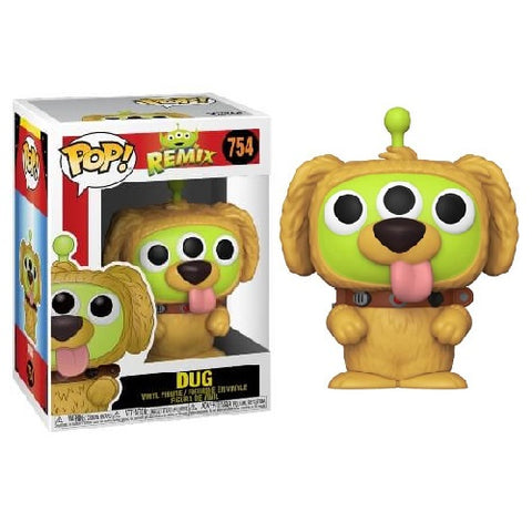Funko Pop! Disney - Pixar Alien Remix #754 - Dug (Flocked) (Exclusive)