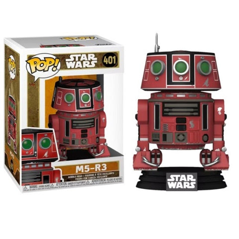 Funko Pop! Star Wars - Galaxy's Edge #401 - M5-R3 (Exclusive)