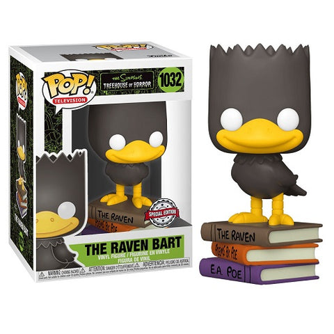 Funko Pop! Animation – The Simpsons #1032 – Bart As A Raven (Exclusive)