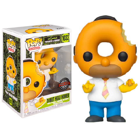 Funko Pop! Animation – The Simpsons #1033 – Donut Head Homer (Exclusive)