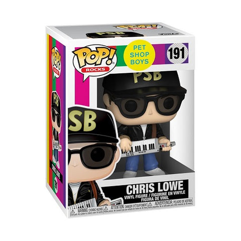 Funko Pop! Rocks - Pet Shop Boys 191 - Chris Lowe