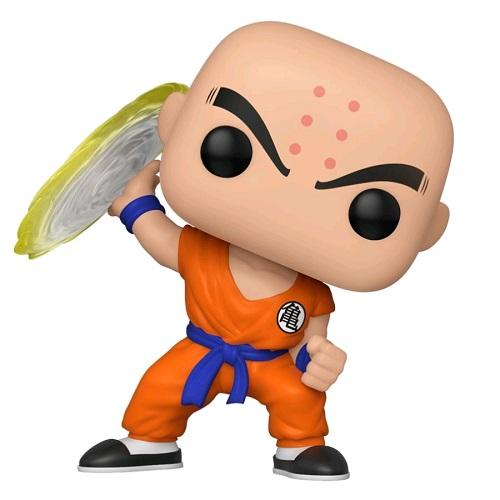 Funko Pop! Animation - Dragonball Z #706 - Krillin (Destructo Disc) - Simply Toys