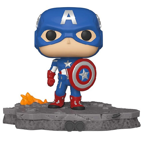 Funko Pop! MARVEL - Avengers #589 - Avengers Assemble: Captain America (Exclusive)