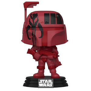 Funko Pop! Movies - Star Wars #297 - Boba Fett (BURG) With Case (Exclusive)