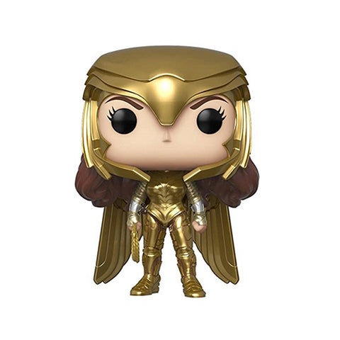 Funko Pop! DC - Wonder Woman 1984 #323 - Wonder Woman Gold Power (Metallic)