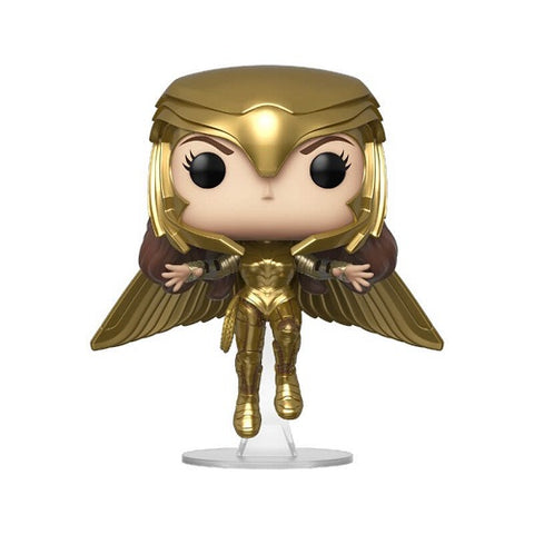 Funko Pop! DC - Wonder Woman 1984 #324 - Wonder Woman Gold Flying (Metallic)