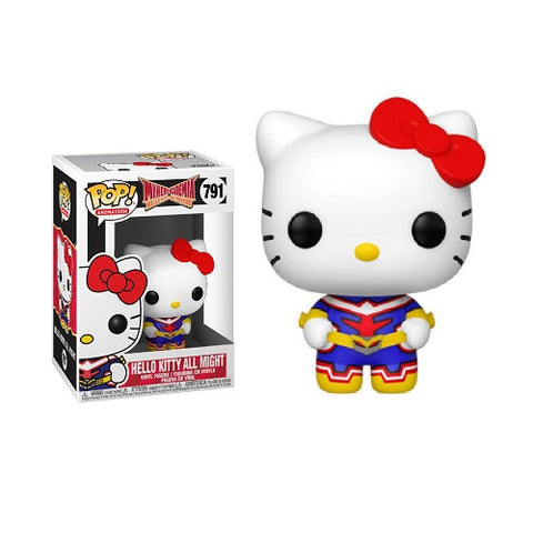 Funko Pop! Animation – Sanrio / My Hero Academia #791 – Hello Kitty – All Might