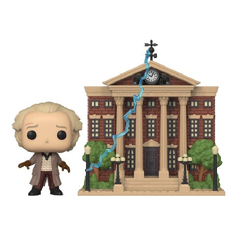 Funko Pop! Town - Back to the Future #15 - Doc With Clock Tower