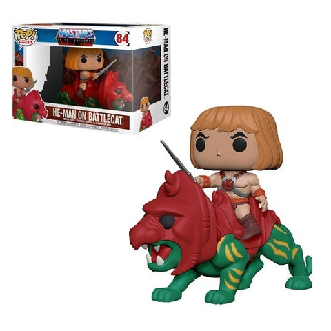 Funko Pop! Ride - Masters Of The Universe #84 - He-Man On Battle Cat