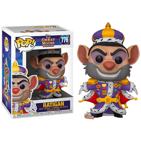 Funko POP! Disney – The Great Mouse Detective #776 – Ratigan