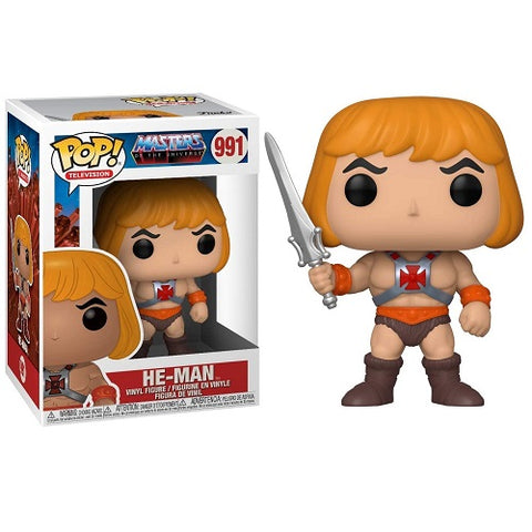 Funko Pop! Animation - Masters Of The Universe #991 - He-Man