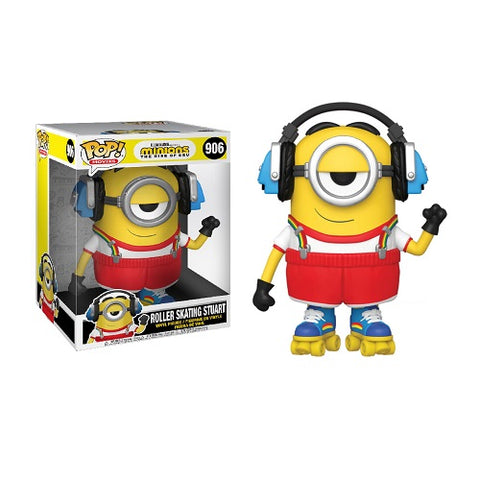 Funko POP! Movies – Minions 2 #906 – Roller Skating Stuart (10 Inch)