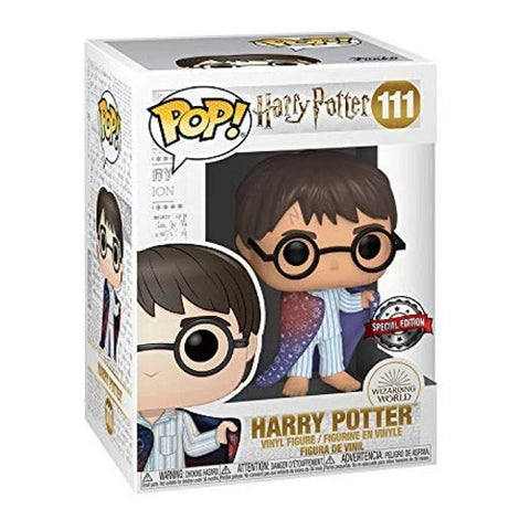 Funko Pop! Movies - Harry Potter #111 - Harry Potter in Invisible Cloak (Exclusive)