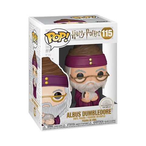 Funko Pop! Movies - Harry Potter #115 - Albus Dumbledore (With baby Harry)
