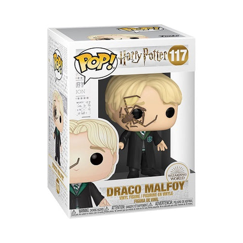 Funko Pop! Movies - Harry Potter #117 - Draco Malfoy  (With Whip Spider)