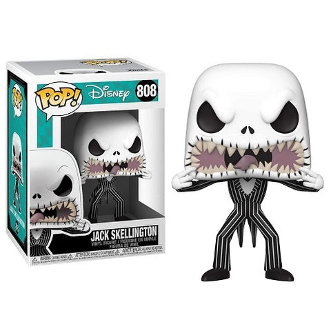 Funko Pop! Disney - Nightmare Before Christmas #808 - Jack (Scary Face)