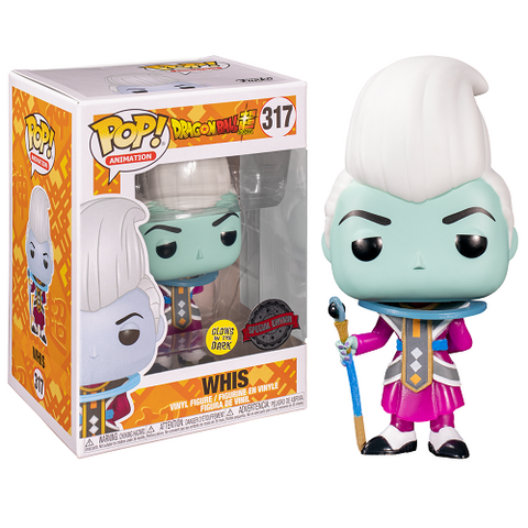 Funko Pop! Animation - Dragon Ball Super #317 - Whis (Glow In The Dark) (Exclusive)