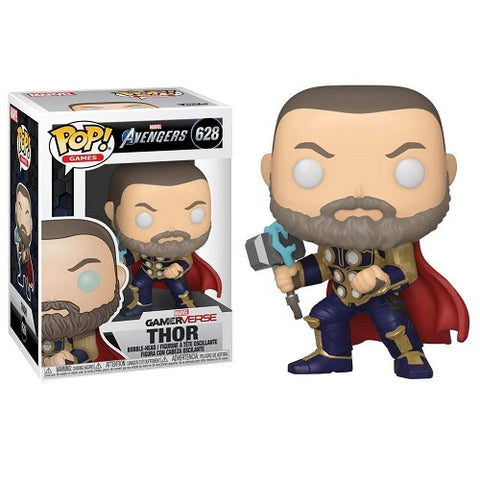 Funko Pop! Marvel – Games #628 – Thor (Glow In The Dark) (Exclusive)