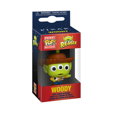 Pocket Pop! Keychain – Pixar Alien Remix – Woody