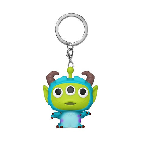 Pocket Pop! Keychain - Pixar Alien Remix - Sulley