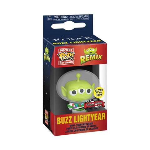 Pocket Pop! Keychain - Pixar Alien Remix - Buzz (Exclusive)