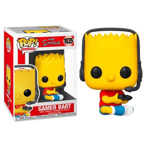 Funko Pop! Animation – The Simpsons #1035 – Gamer Bart (Exclusive)