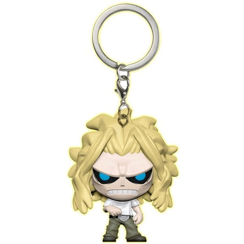Pocket Pop! Keychain – My Hero Academia – All Might (True Form) (Glow In The Dark) (Exclusive)