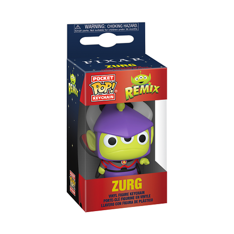 Pocket Pop! Keychain – Pixar Alien Remix – Zurg