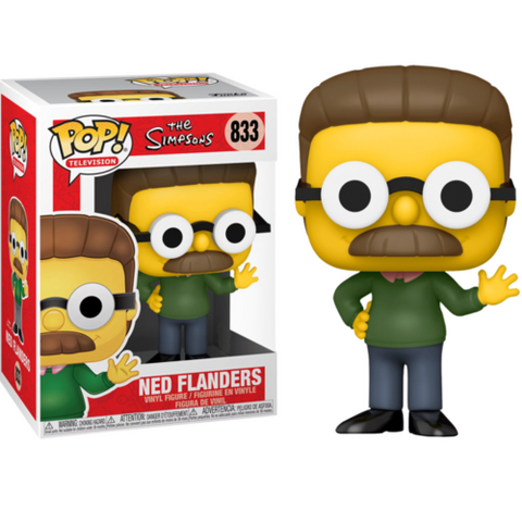 Funko Pop! Animation – The Simpsons 833 – Flanders  (Exclusive)