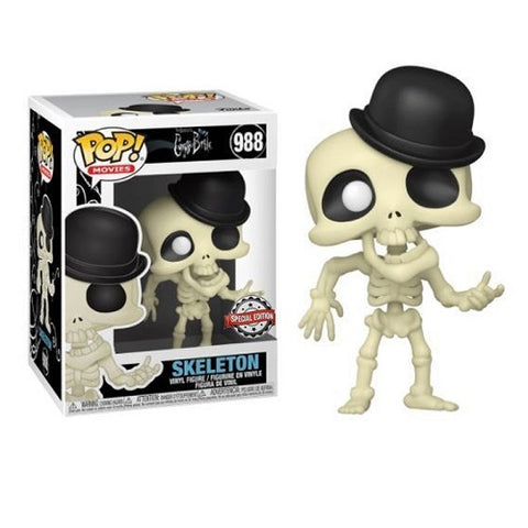 Funko Pop! Movies - Corpse Bride #988 - Skeleton (Exclusive)