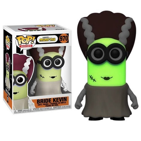 Funko POP! Movies – Minions #970 –  Bride Kevin (Glow In The Dark) (Exclusive)
