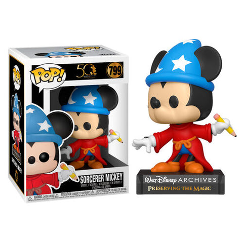 Funko Pop! Disney – Archives #799 – Sorcerer Mickey