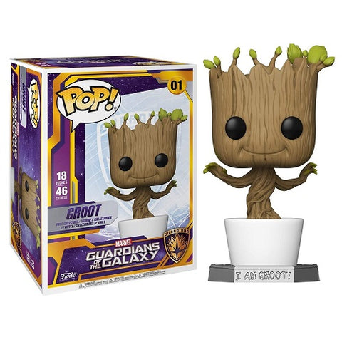 Funko Pop! Marvel - Guardian Of The Galaxy #01 - 18 Inch Dancing Groot