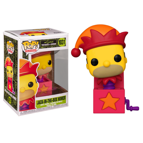 Funko Pop! Animation – The Simpsons #1031 – Homer Jack-In-The-Box