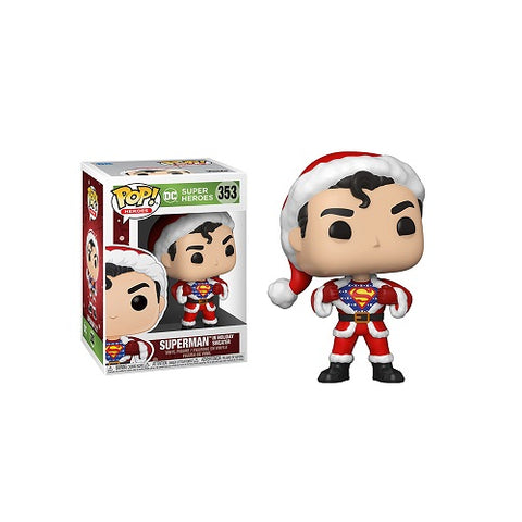 Funko Pop! Heroes - DC Holiday #353 - Superman (w/Sweater)