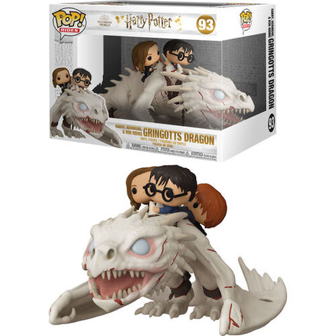 Funko Pop! Ride – Harry Potter #93 – Dragon With Harry, Ron & Hermione